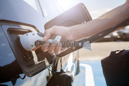 carga de coche electrico
