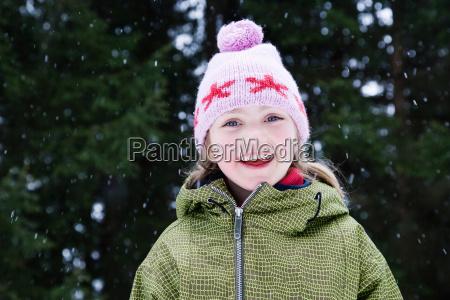 risilla sonrisas ocio invierno retrato congelado