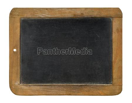 slate on white background