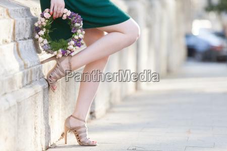 anillo perfecto de la flor