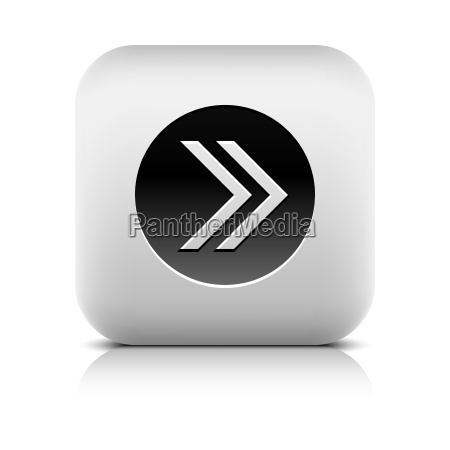 icon with arrow sign in black