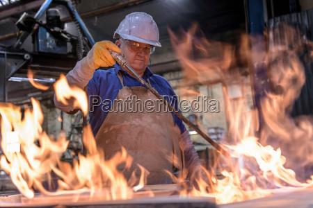 el lugar de trabajo industria caliente