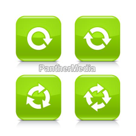 green arrow refresh reload rotation repeat