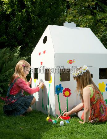 casa construccion risilla sonrisas amistad ocio