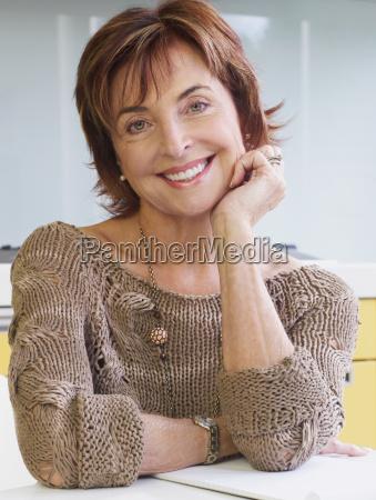 portrait, of, senior, woman, smiling - 18480956