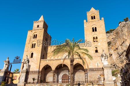 la catedral normanda de cefalu en