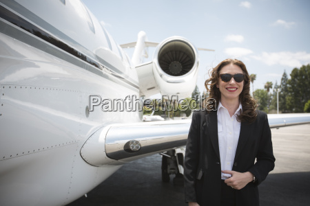 portrait of mid adult female businesswoman