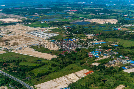 industrial estate land development construction