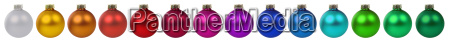 christmas baubles christmas decoration colorful in