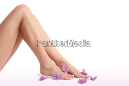 hermosas piernas de mujer