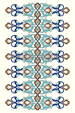 abstracto turco decorativo marco