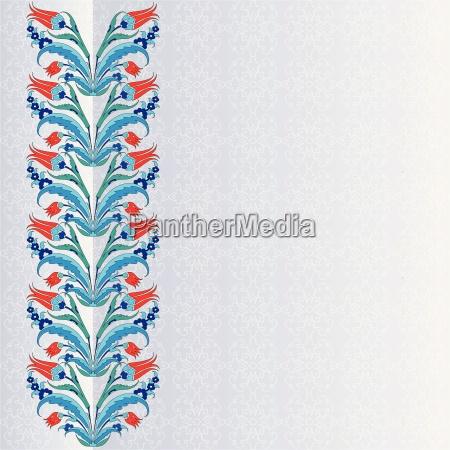 tulipan turco decorativo