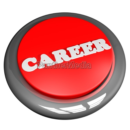 career button isolated over white