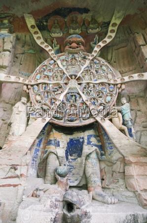 paseo viaje historico templo lejano oriente