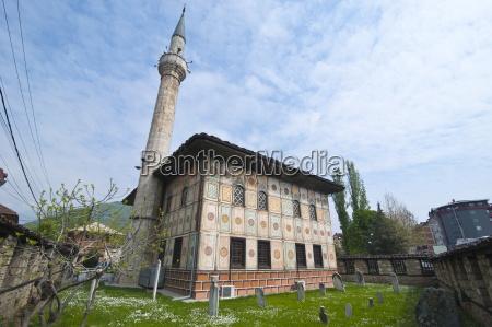 alaca mosque tetovo macedonia europe