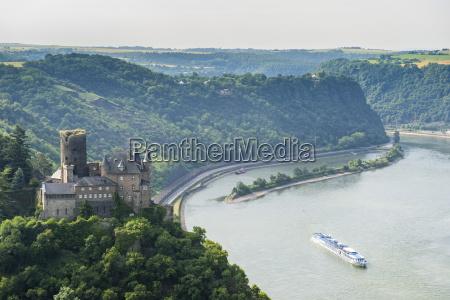 castillo de katz y el lorelei