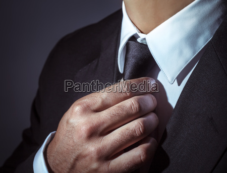 jefe hombre de negocios camisa con