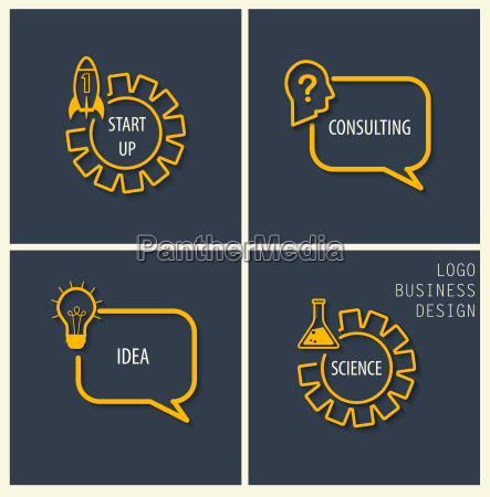 puesta en marcha consultoria idea simbolos