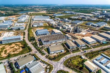 industrial estate land development and manufacturer