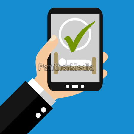 book hotels with the smartphone