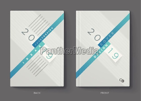vector annual report brochure flyer or