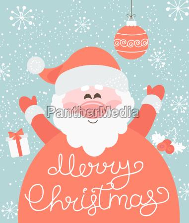 feliz navidad de santa