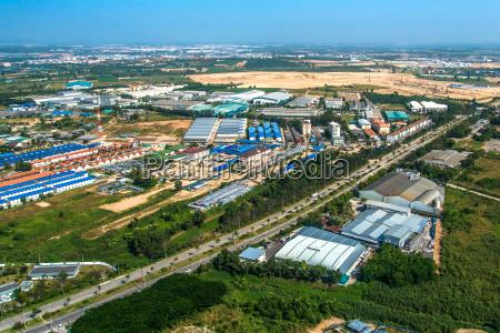 industrial estate residential land development in
