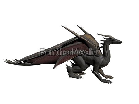 dragon de dibujos animados exento