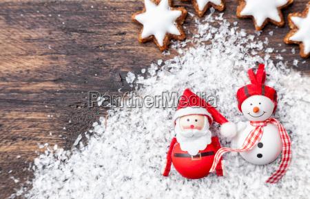 decoracion de la navidad en fondo