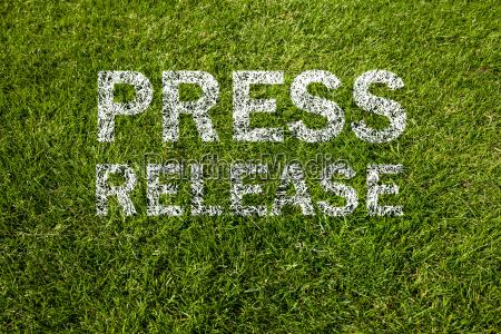 press release on meadow