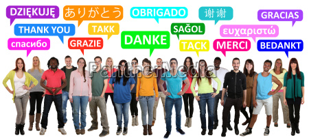 thank you say multicultural people group