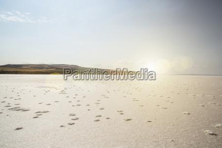 view of lake tuz salt lake