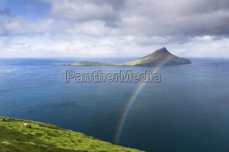 island of koltur faroe islands denmark