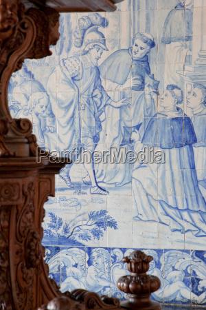 azul primer plano detalle religion iglesia