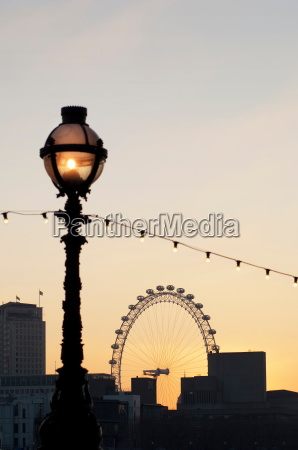 the, london, eye, , a, large, observation - 19441356