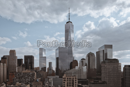 view of one world trade centre
