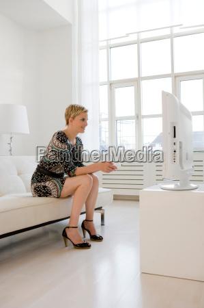 mujer ocio relajacion retrato posando retrato