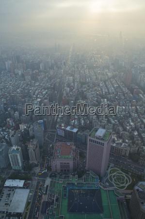 vista aerea de la ciudad y