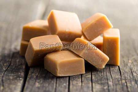 comida dulce marron azucar caramelo lindo