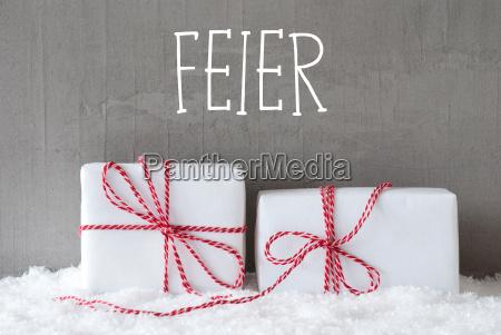 presente saludos fiesta nacimiento invierno moderno