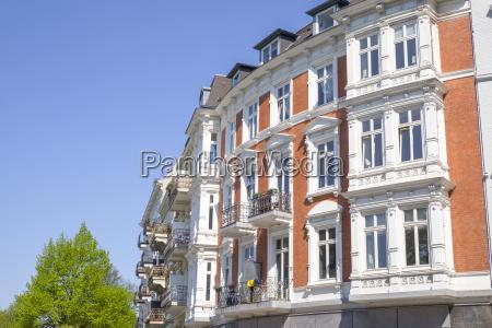 edificio antiguo en hamburgo alemania