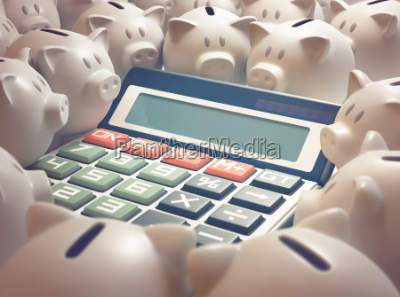 calculadora financiera de piggy bank