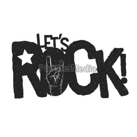 permite el disenyo tipografico de rock