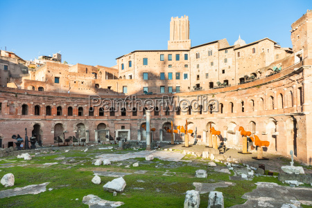 trajan market of trajans forum in