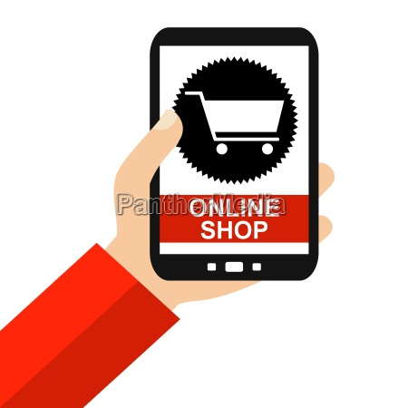 online shopping on your smartphone