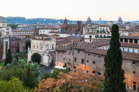 view of buildings of old rome