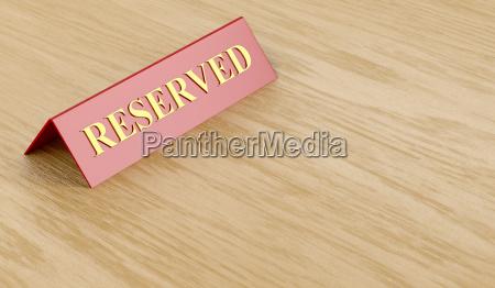 cafe restaurante reserva firmar reservado bandera