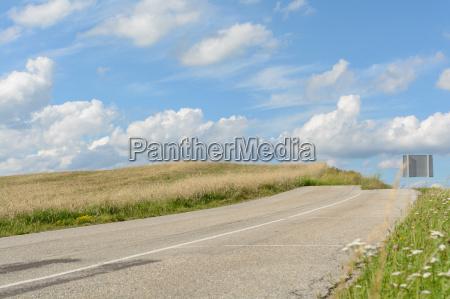 asfalto punto de vista salida termino