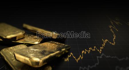 grafico disenyo negro mercado horizontalmente metal