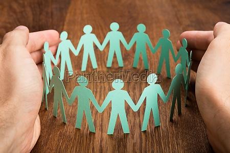 escritorio persona grupo ayuda amamantar